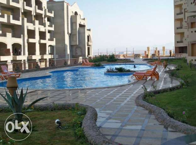 Sea View, Lux Furnished 2 BD apartment for sale in Sahl Hasheesh. الغردقة -  1
