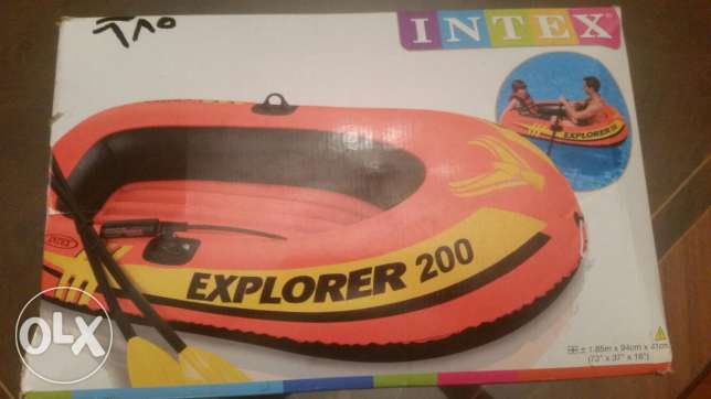 للبيع قارب مطاط INTEX Explorer 200