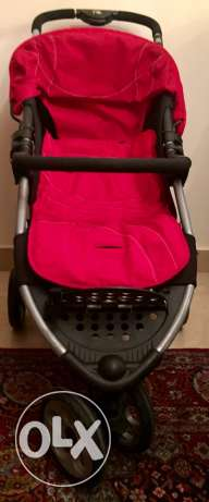 Mothercare Vesta 3 - Wheeler Travel System - Flame Red المقطم -  3