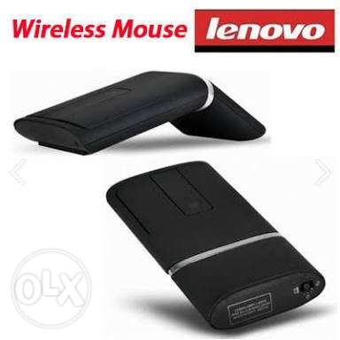 Lenovo N700 Wireless Mouse and Laser Pointer (Black)