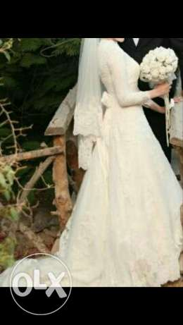 Wedding dress for rent العبور -  2