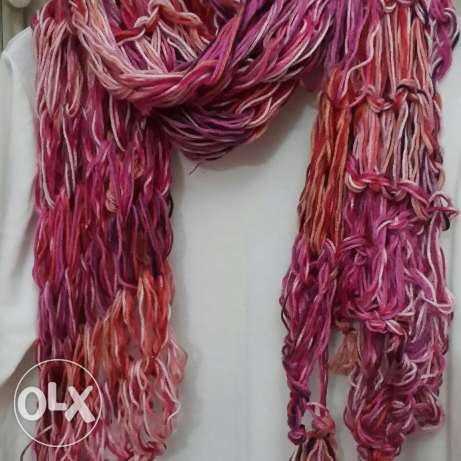 Colored winter scarf مصر الجديدة -  1