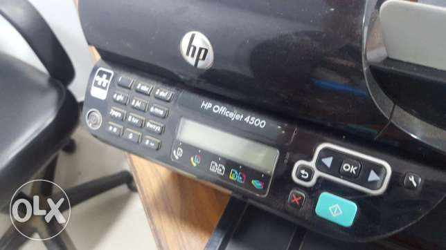 HP Officejet 4500 Desktop All-in-One Printer شبين الكوم -  3