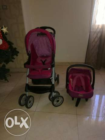 Crib and stroller junior مدينة نصر -  5