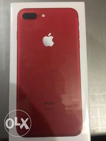 I phone 7 plus Red 256gb