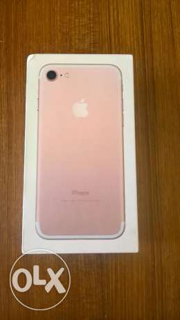 Brand new iPhone 7 Rose Gold, 256 GB, Unlocked