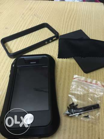 iphone 4/4s case + free frame case