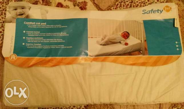 safety cot pad