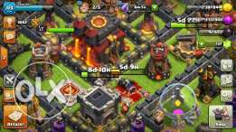 Clash of clans TH10 + Clash Royale lvl 8