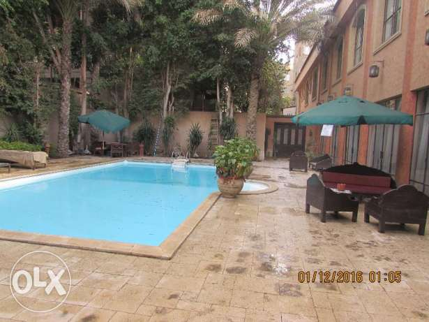 for Rent flat furnished 3 rooms 3 bathroom in very cool road 9 maadi المعادي -  3