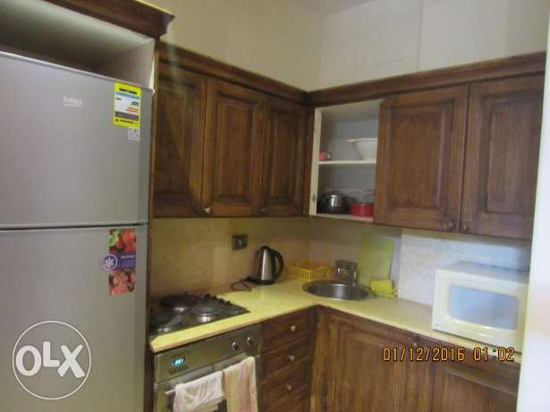 for Rent flat furnished 3 rooms 3 bathroom in very cool road 9 maadi المعادي -  6