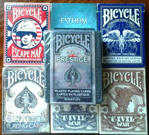 Bicycle cards limited edition
