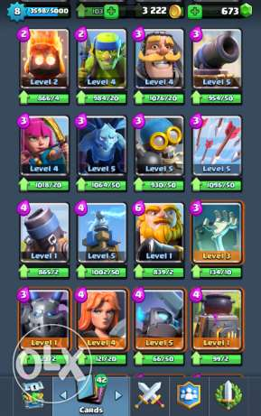 Clash Of Clans & Clash Royal Accounts الإسكندرية -  6