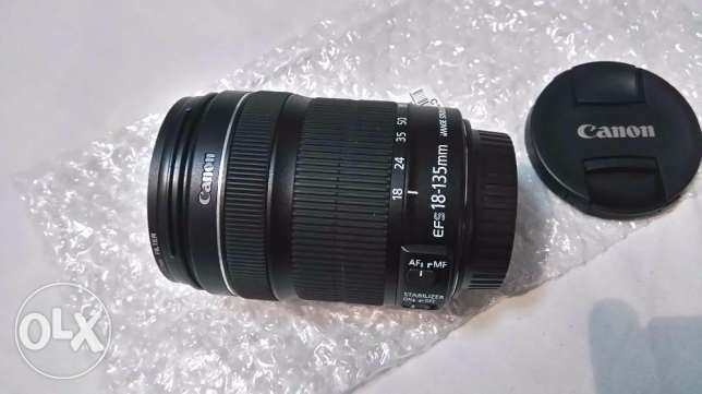canon lens 18-135 is stm
