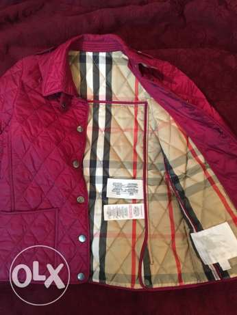 Girls' Burberry Jacket with tag