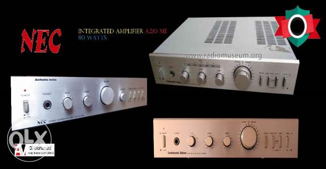 NEC A 210 ME integrated amp from Japan