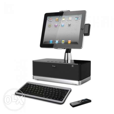 Ipad speaker and keyboard