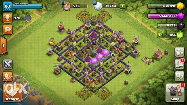 Clash of clans game a