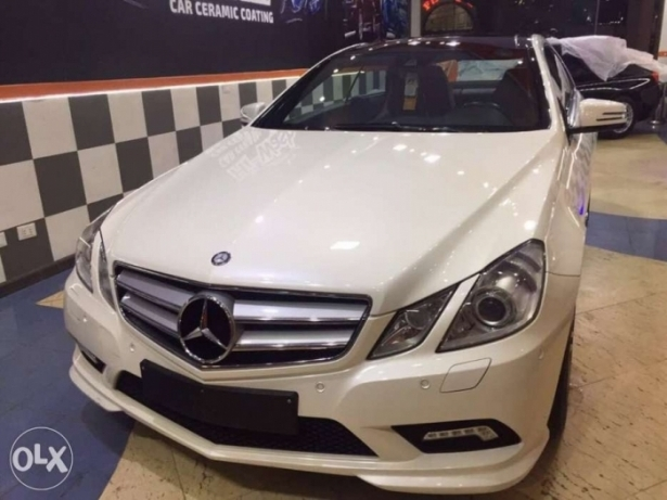 2011 E250 coupe Amg white panorama الإسكندرية -  1