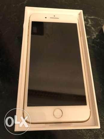 iphone 7+plus Gold 128GB new
