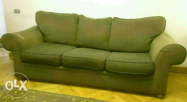 American Living room two Sofas (3 seats & 2 seats) كنب ليفينج