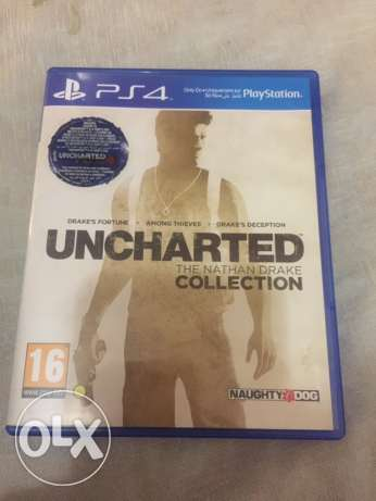 PS4 game uncharted collection 6 أكتوبر -  1