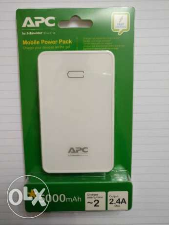 APC Power bank 5000 mah - NEW & Sealed