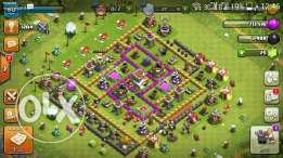 Clash of clans account holltown 8 level 60