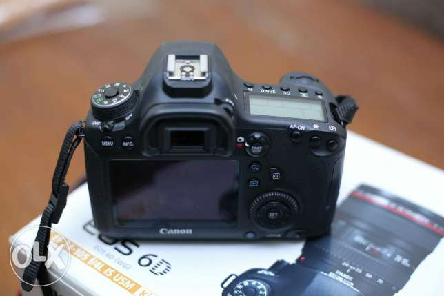 Canon 6D shutter 25k Like new7