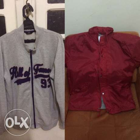 2 jackets for a very low price size: L 6 أكتوبر -  1