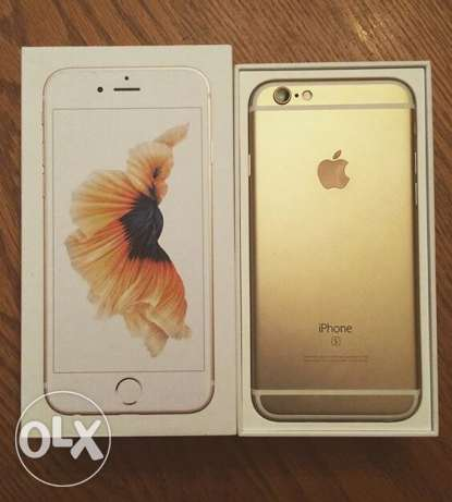 iphone 6s 128g gold