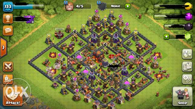 TH10 max clash of clans