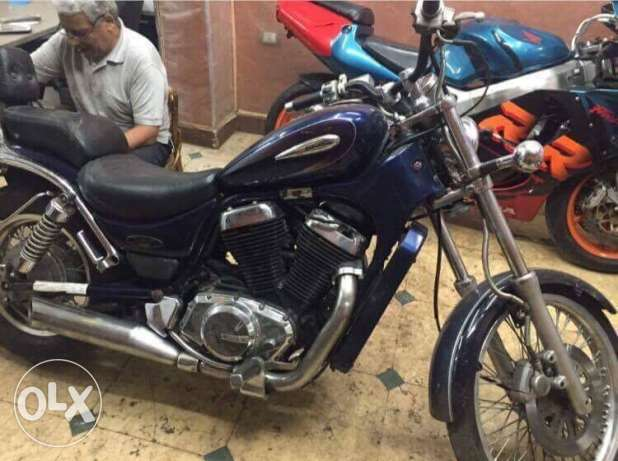 Suzuki intruder chopper