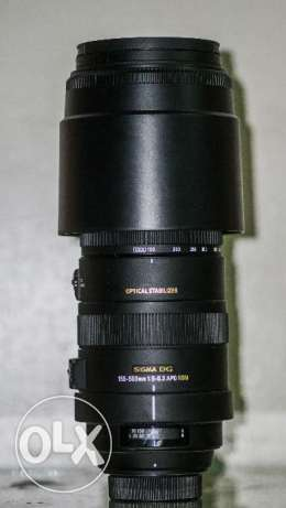 Sigma 150-500mm OS f5-6.3 for nikon as new مدينة نصر -  1