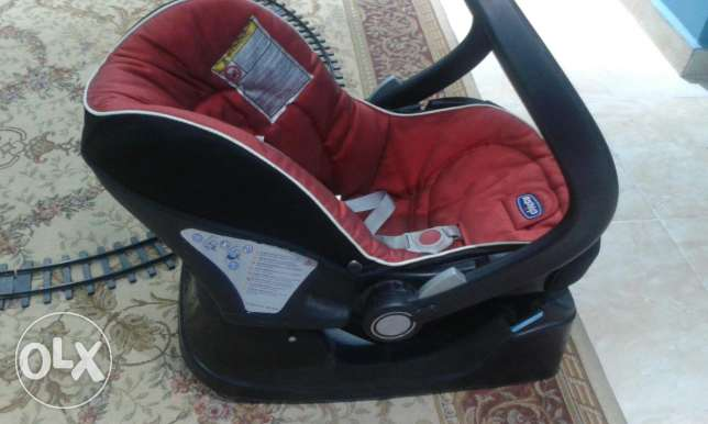 Car seat and walky talky