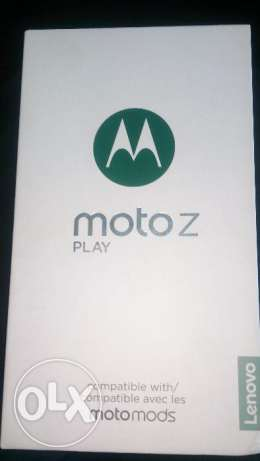 Moto z play _ 32 G new