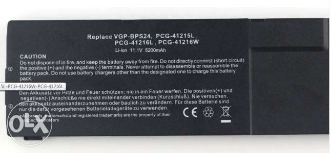 Sony vaio Lap top battery bps24