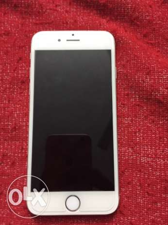 iphone 6 silver 64 GiGa without box الساحل -  1