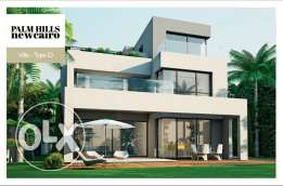Villa 660 SQm for Sale - Palm Hills New Cairo woth Installament