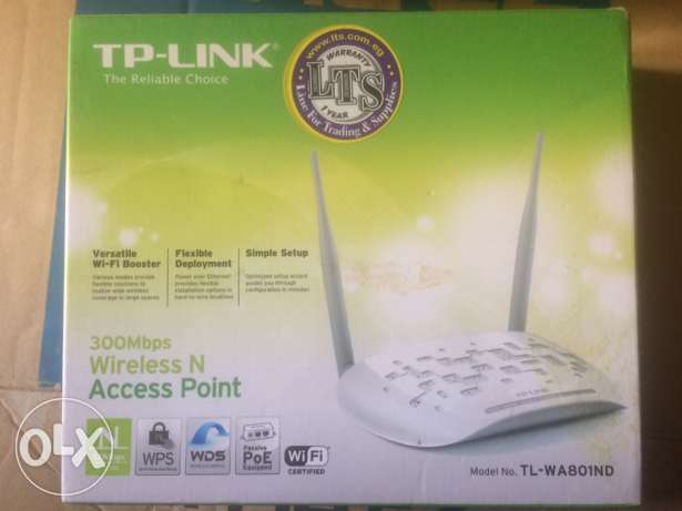 300Mbps Wireless N Access Point TL-WA801ND