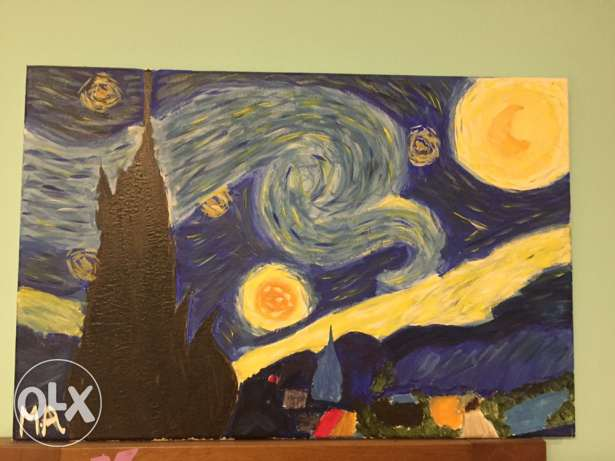 the starry night painting