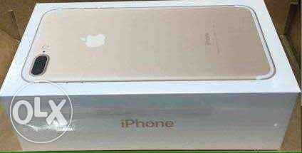 iphone 7 plus ,32 giga , gold , seald الزقازيق -  1
