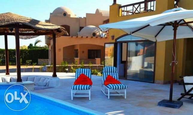 Spend your best holiday in amazing villa in El-Gouna!!!