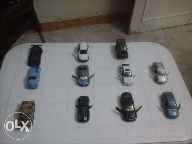 cars scale size 1/30