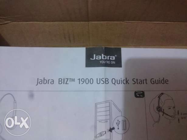 Jabra BIZ 1900 DUO Handset like new الحلمية -  8