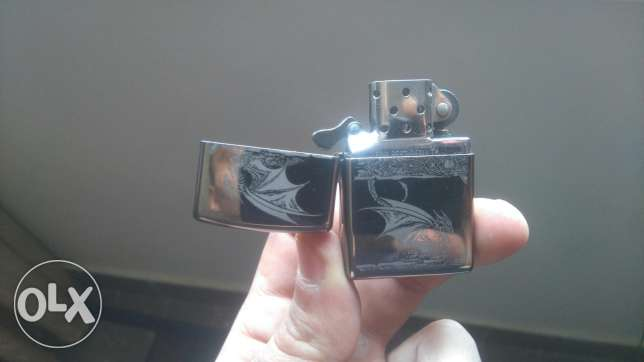 original Zippo Lighter Silver colour