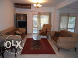 Furnished Apartment With 2 Balconies For Rent In Maadi Sarayat