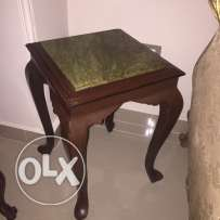2 side table corners
