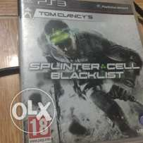 Splinter cell blacklist, Heavy Rain, Metal Gear rising, Top Spin 4 Ps3