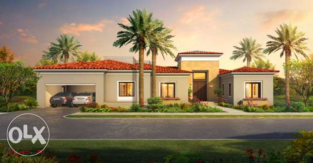 Villa 1500 m | uptown Cairo | unique golf villa المقطم -  2